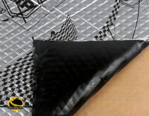 Самоклеящийся вибродемпфирующий материал stp silver