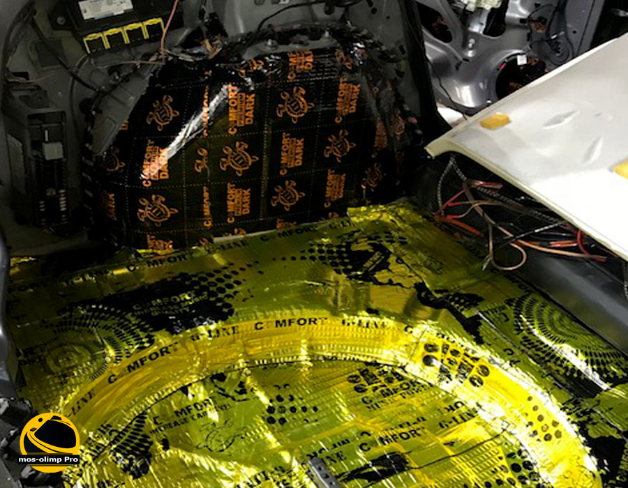 виброизоляция багажника Форд Фокус