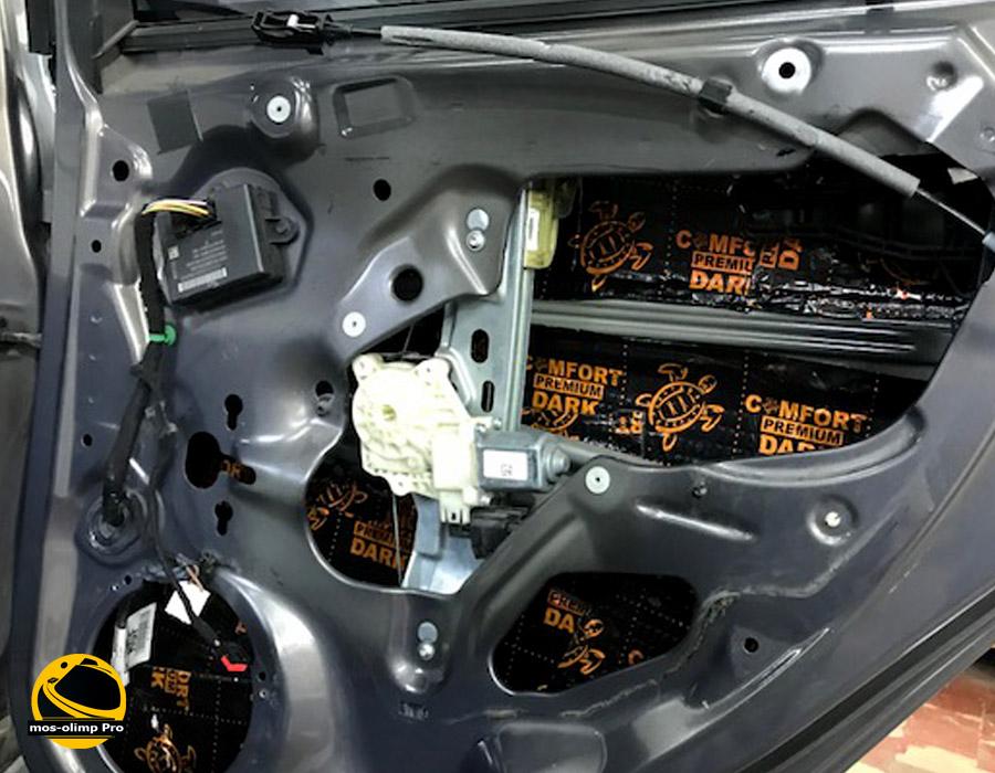 виброизоляция дверей Форд Фокус