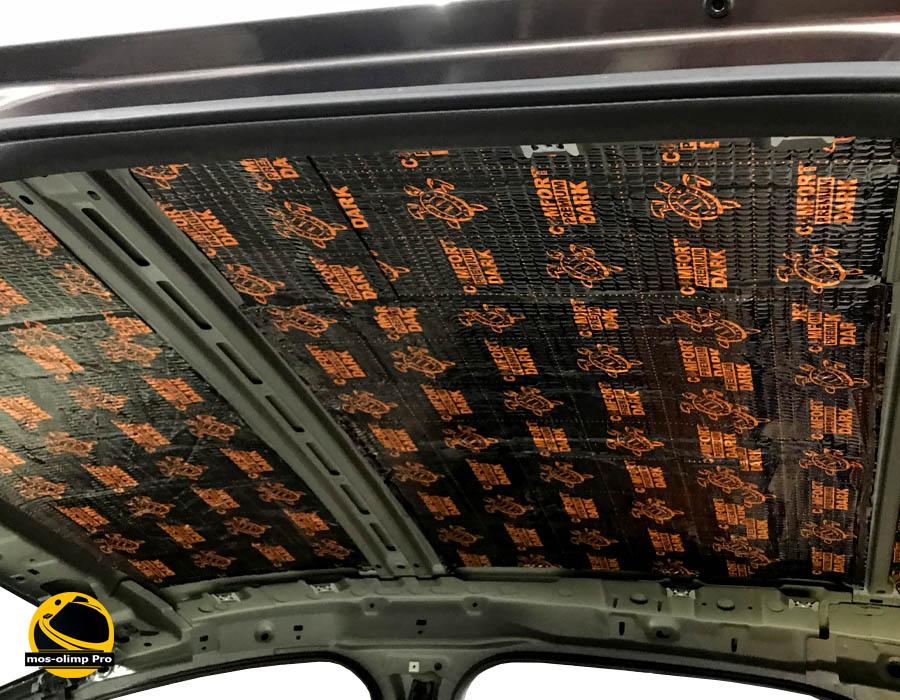 виброизоляция крыши Форд Фокус