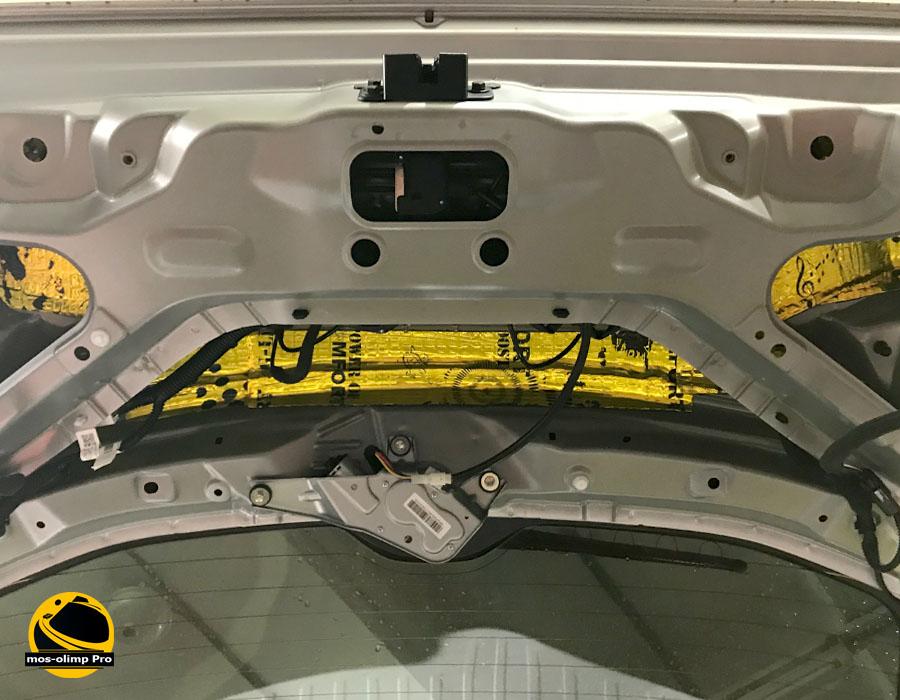 виброизоляция крышки багажника Хонда Пилот