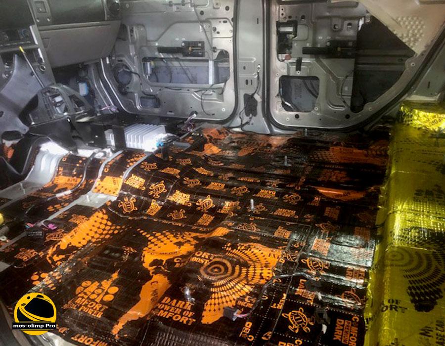 виброизоляция Hummer H2