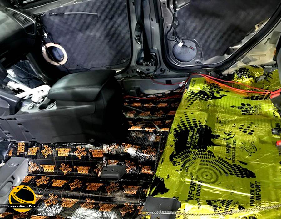 виброизоляция Форд Фоккус
