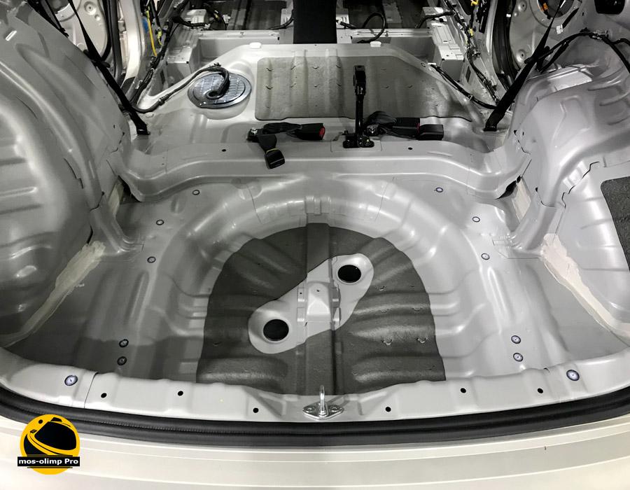 шумоизоляция багажника автомобиля