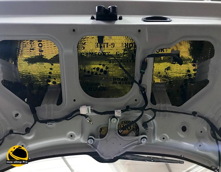 шумоизоляция Jeep багажник