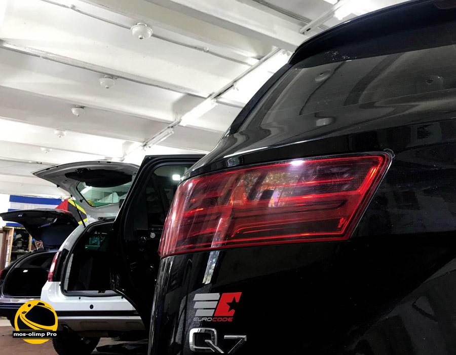 шумоизоляция автомобиля ауди q3
