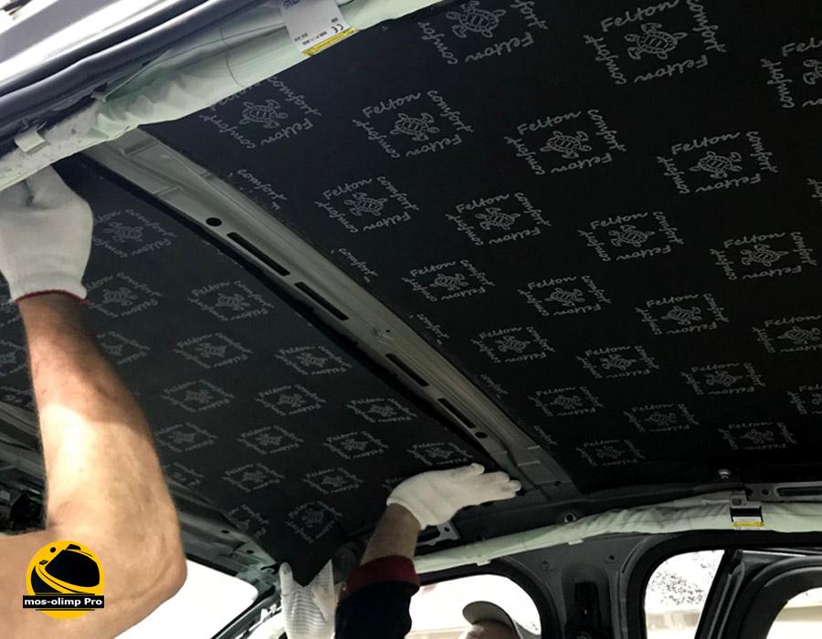 шумоизоляция крыши felton
