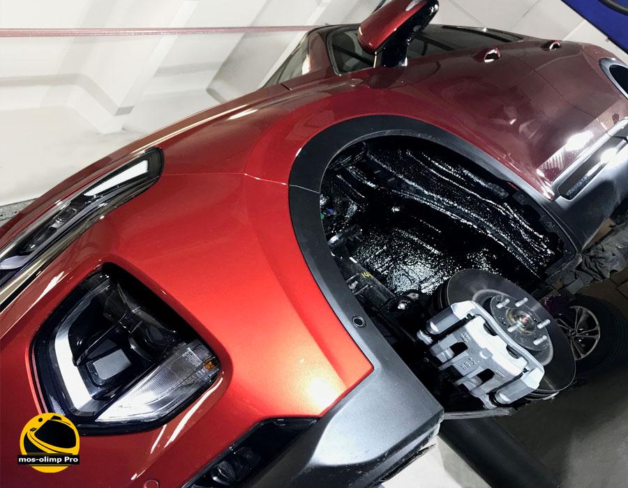 шумоизоляция арок автомобиля