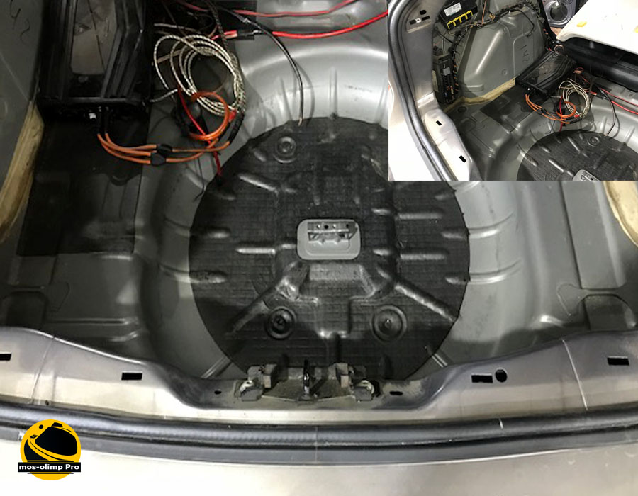 шумоизоляция багажника Форд Фокус