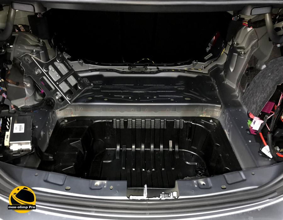 шумоизоляция багажника автомобиля МосОлимп