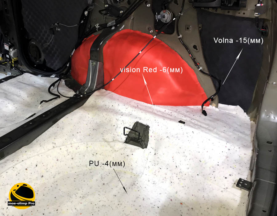 шумоизоляция багажника хонда срв