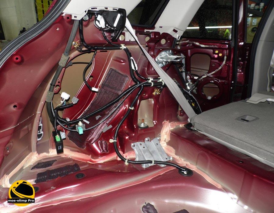 шумоизоляция багажника Acura RDX