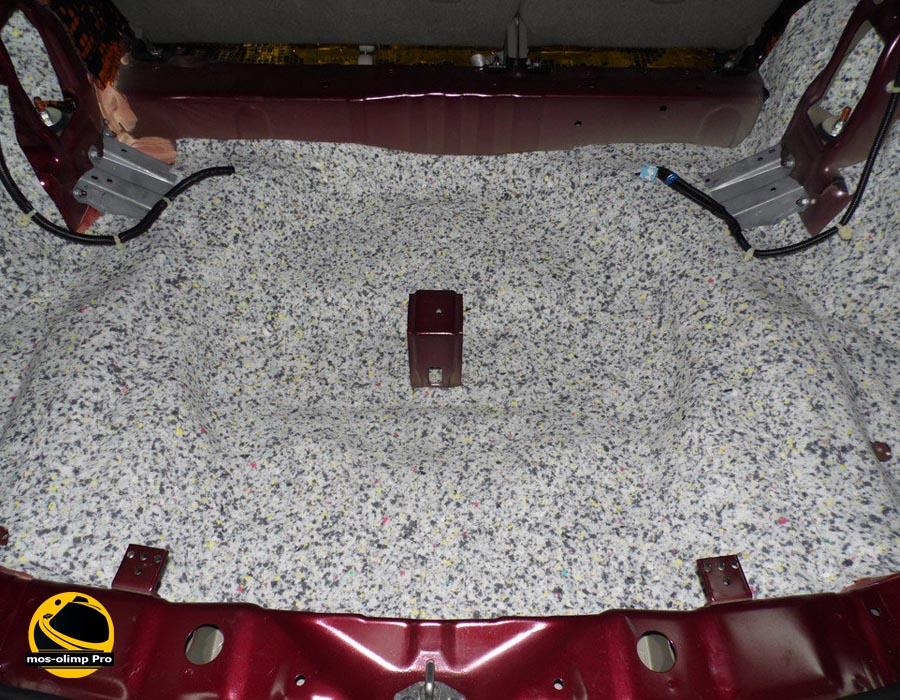 шумоизоляция багажника Acura RDX_1