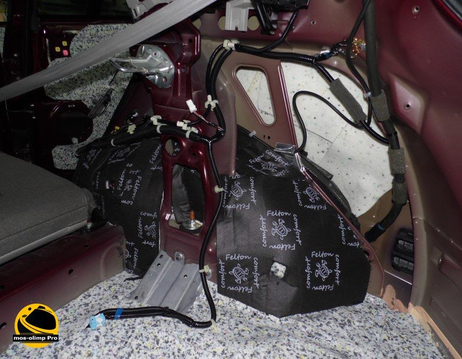шумоизоляция багажника Acura RDX_2
