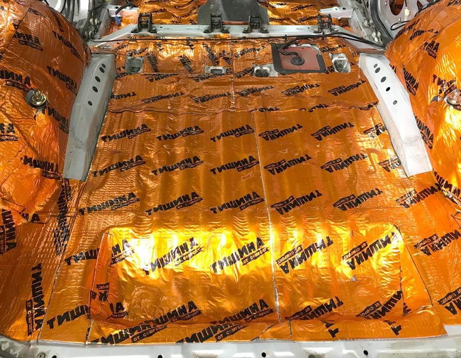 шумоизоляция багажника chery tiggo