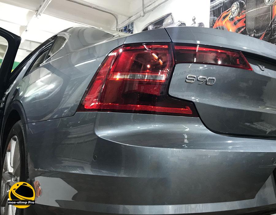 шумоизоляция багажник Volvo S90
