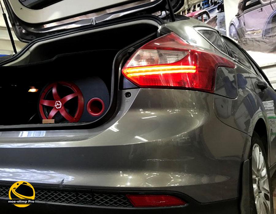 шумоизоляция Ford Focus