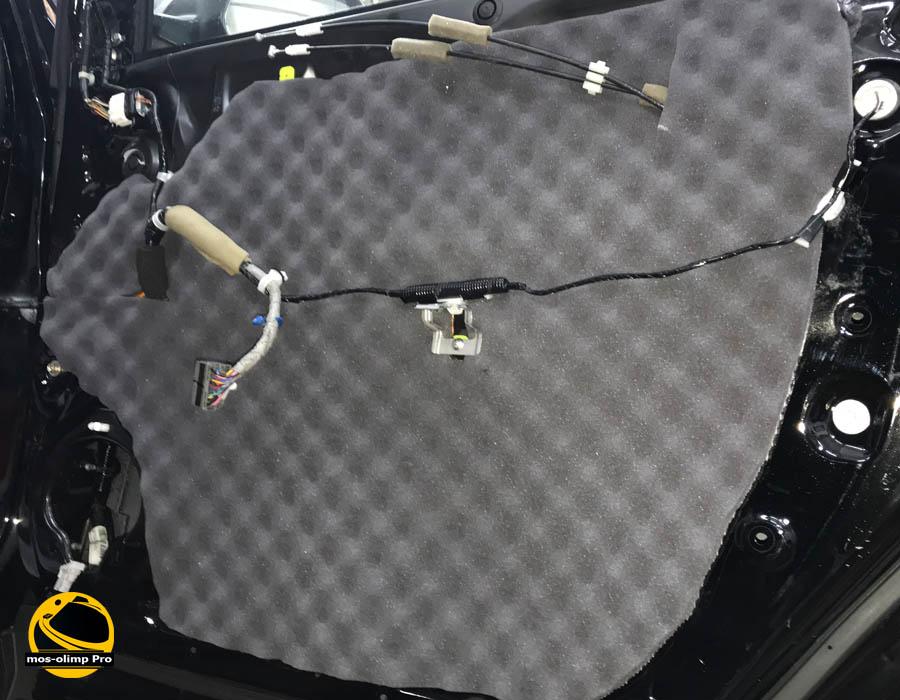 шумоизоляция дверей хонда срв
