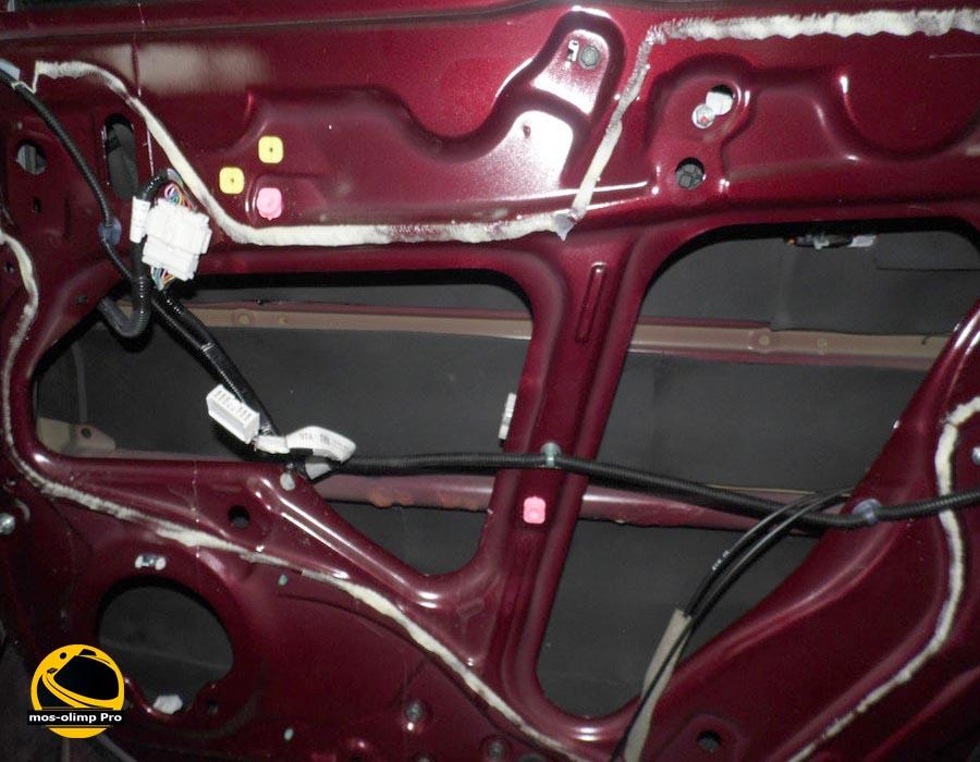 шумоизоляция дверей Acura RDX_2