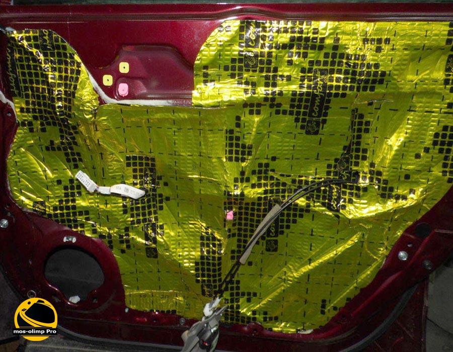 шумоизоляция дверей Acura RDX_3