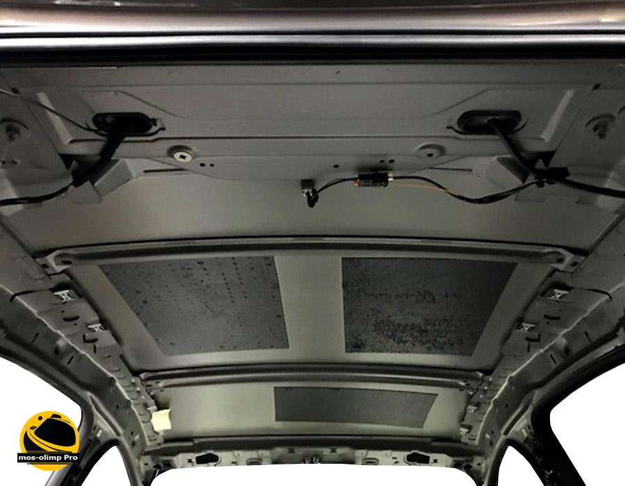 шумоизоляция крыши Форд Фокус