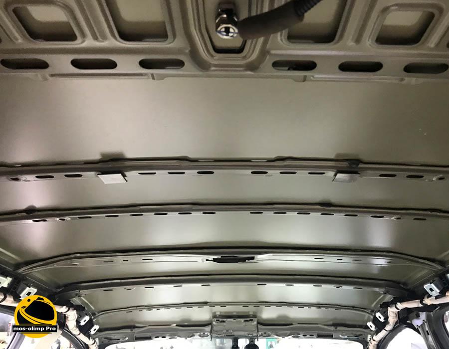 шумоизоляция крыши хонда срв