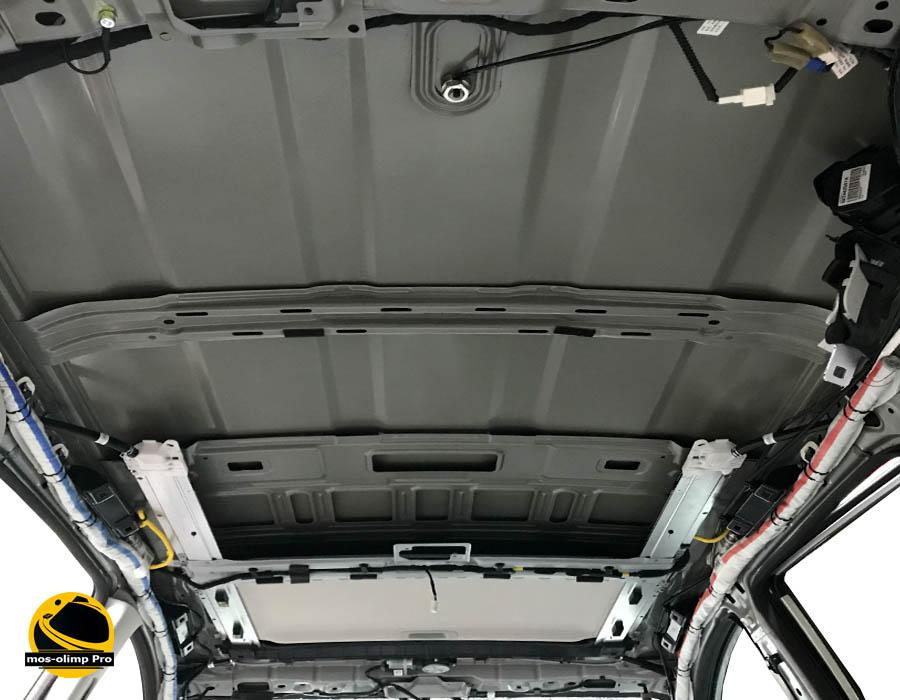 шумоизоляция крыши Хонда Пилот