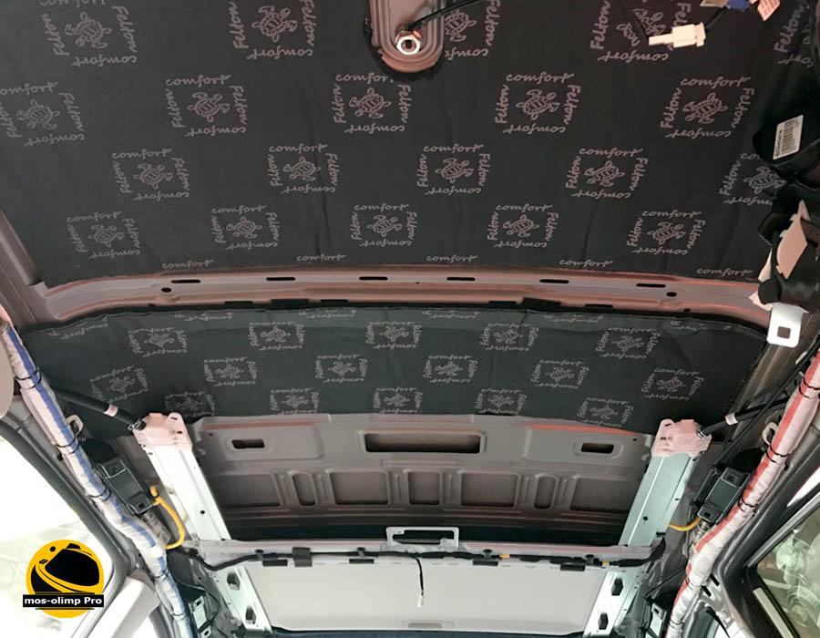 шумоизоляция крыши Haval H6_1
