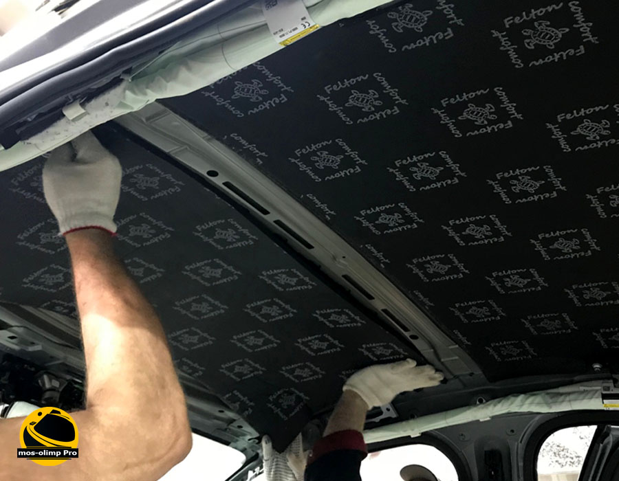 шумоизоляция крыши автомобиля_2