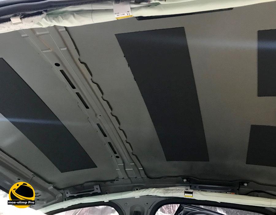 шумоизоляция крыши автомобиля
