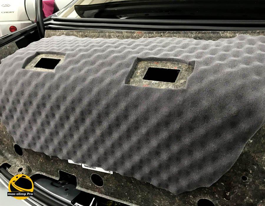 шумоизоляция крышки багажника автомобиля МосОлимп_1