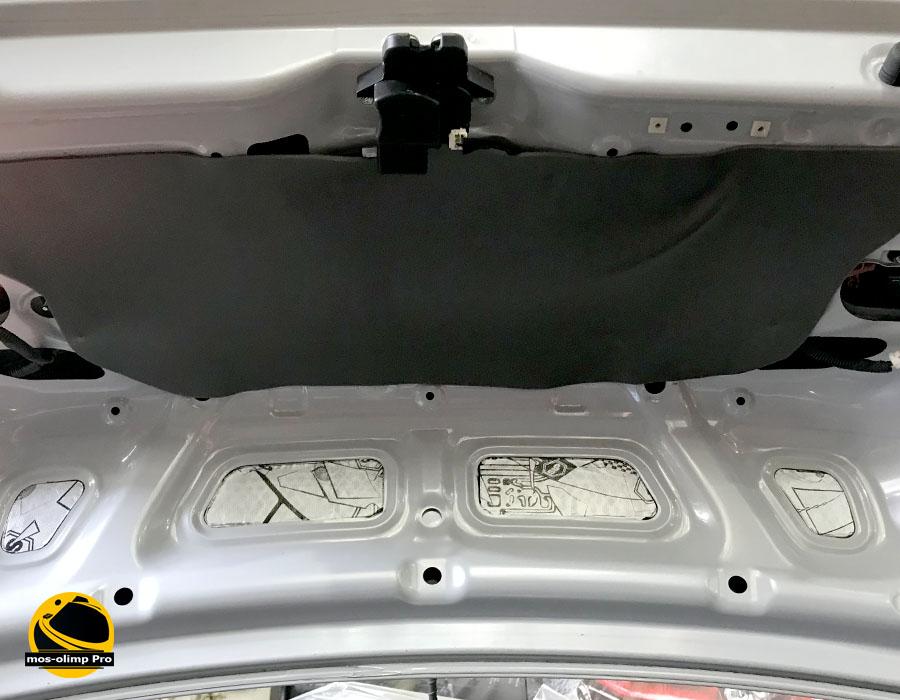 шумоизоляция крышки багажника киа рио 3
