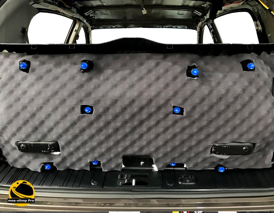 шумоизоляция крышки багажника киа спортейдж