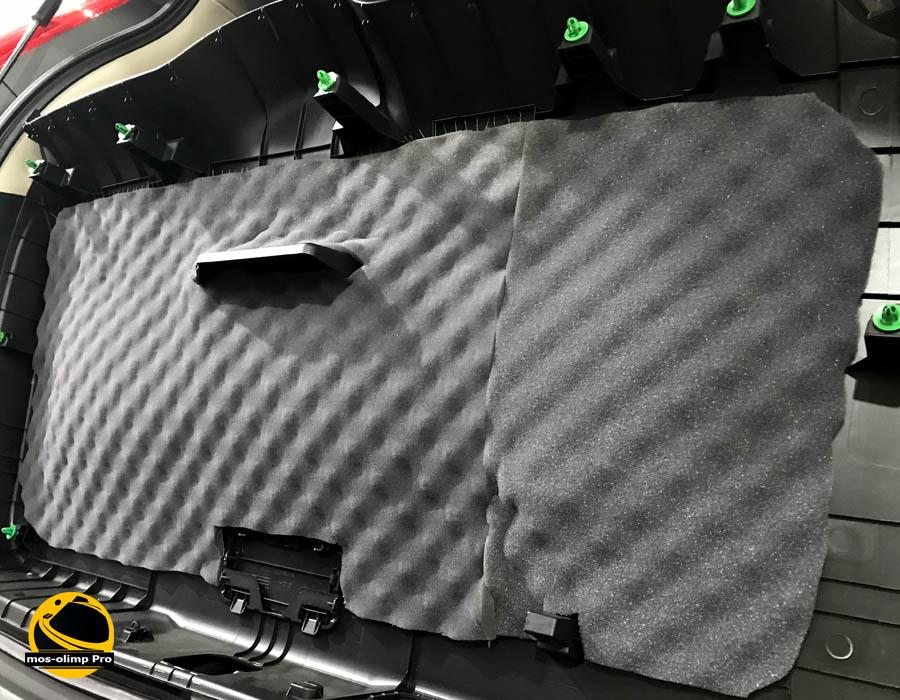 шумоизоляция крышки багажника хонда срв