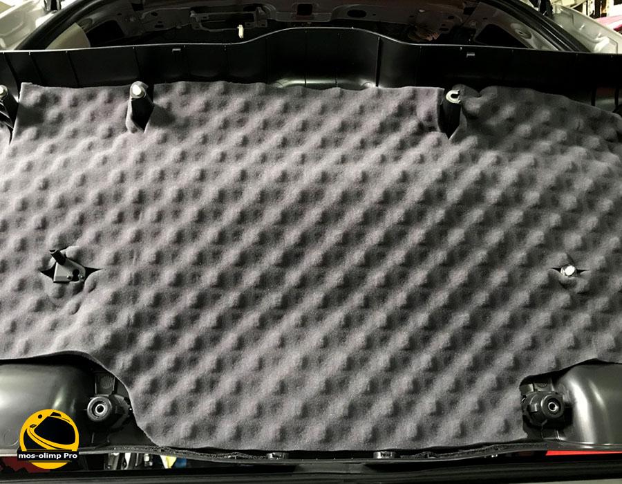 шумоизоляция крышки багажника Хонда Пилот