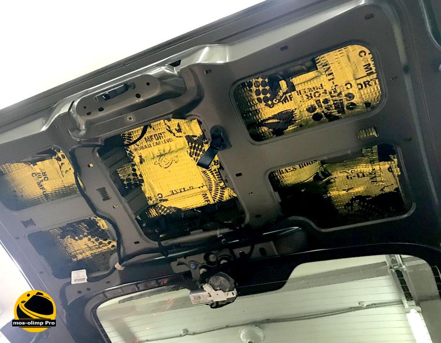 шумоизоляция крышки багажника citroen space