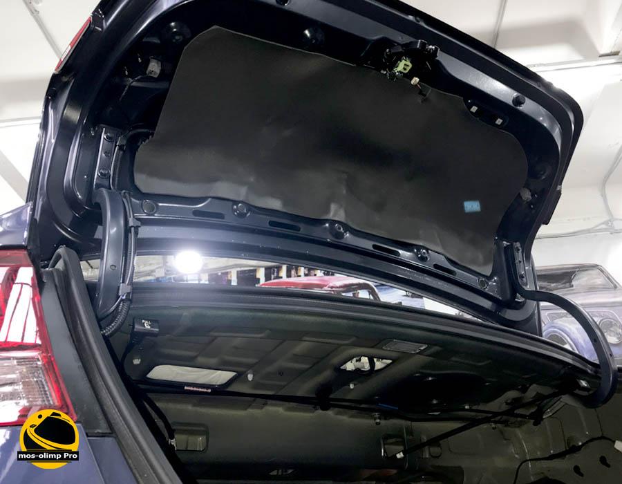 шумоизоляция крышки багажника hyudai elantra
