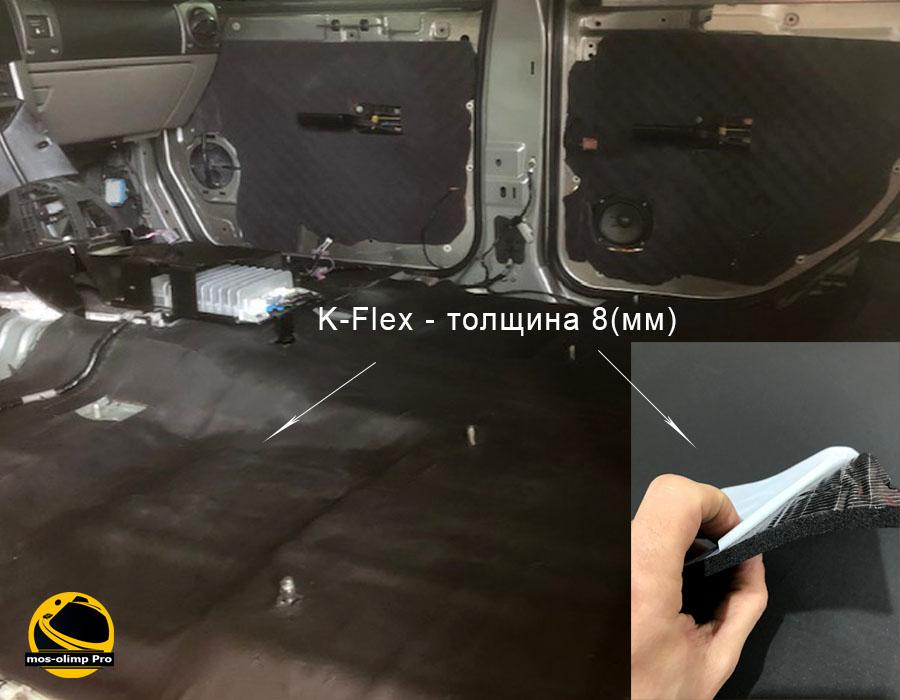 шумоизоляция салона Hummer H2