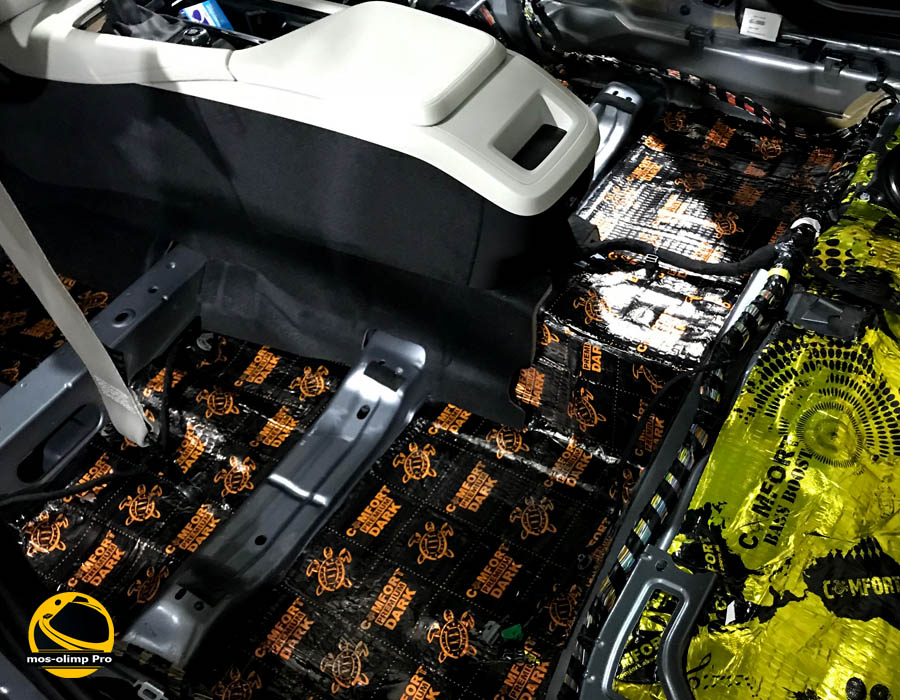 шумоизоляция салона Volvo S90