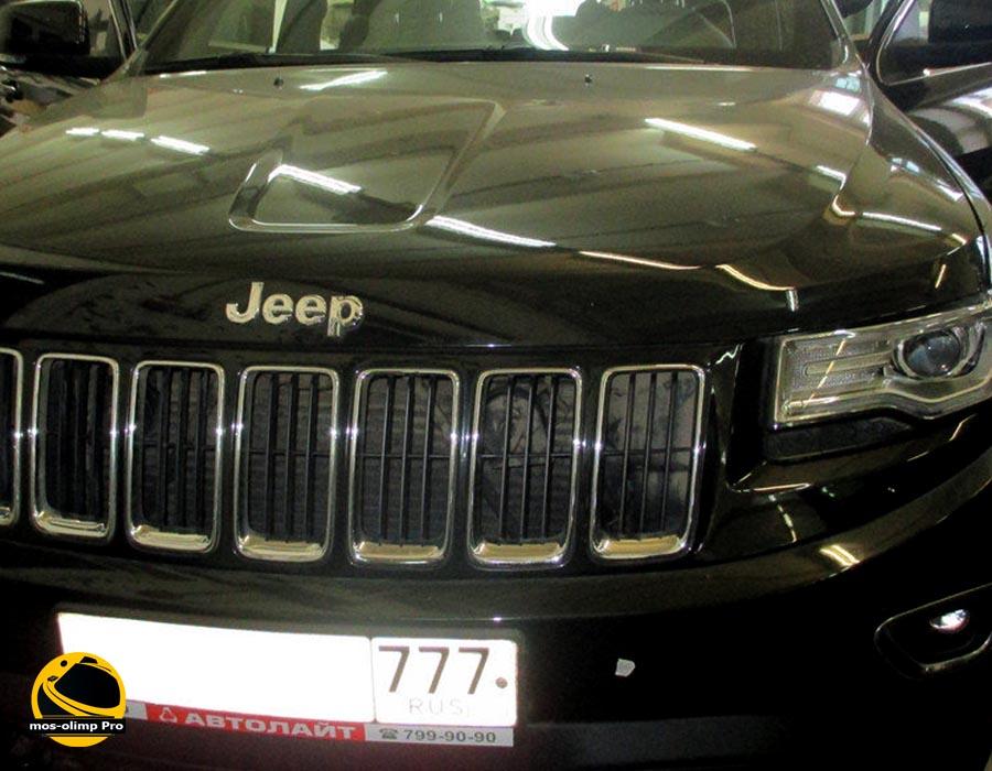 шумоизоляция jeep cherokee