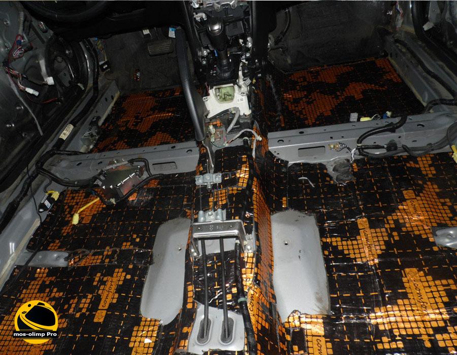 Шумоизоляция Хонда Аккорд