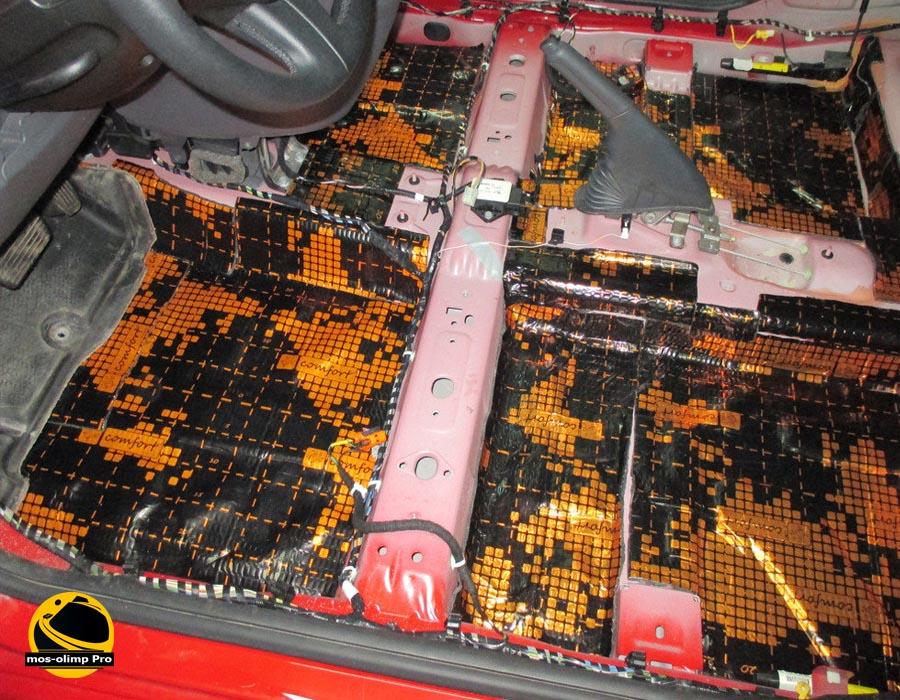 шумоизоляция Fiat 500