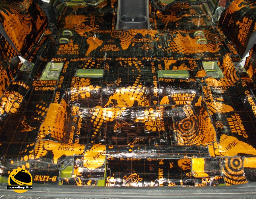 шумоизоляция Jeep Wrangler
