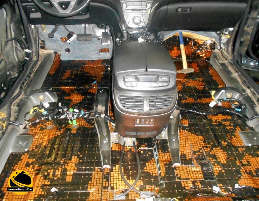 шумоизоляция салона Acura MDX