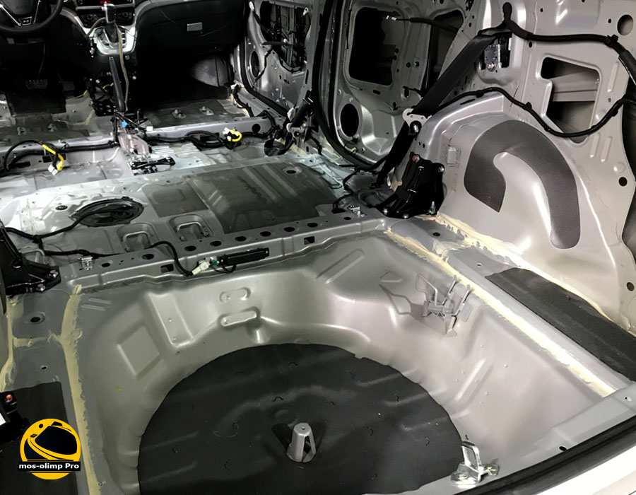 шумоизоляция Хонда Пилот