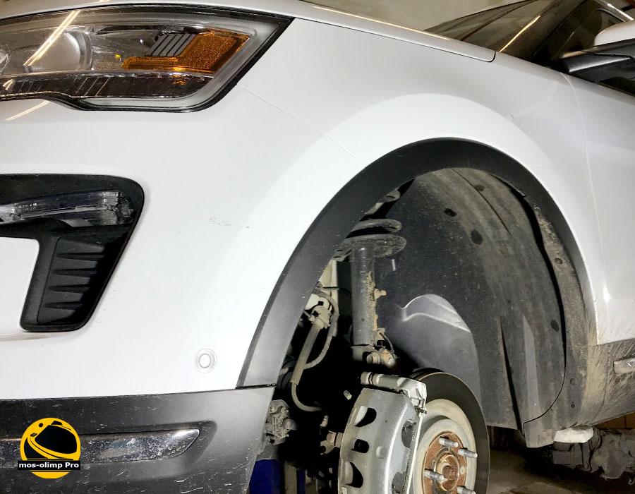 шумоизоляция арок форд эксплорер