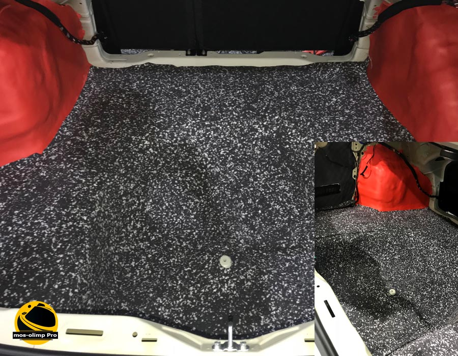 шумоизоляция багажника киа оптима