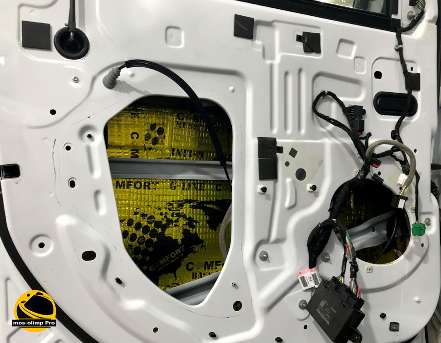 шумоизоляция дверей форд экплорер