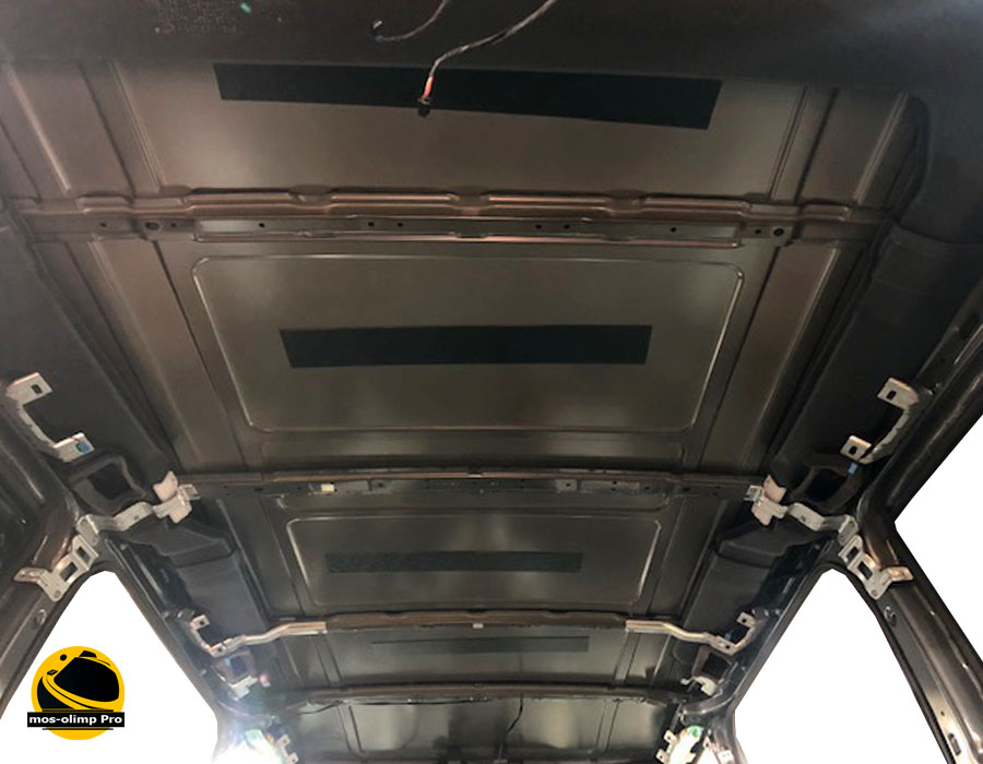 шумоизоляция крыши виано