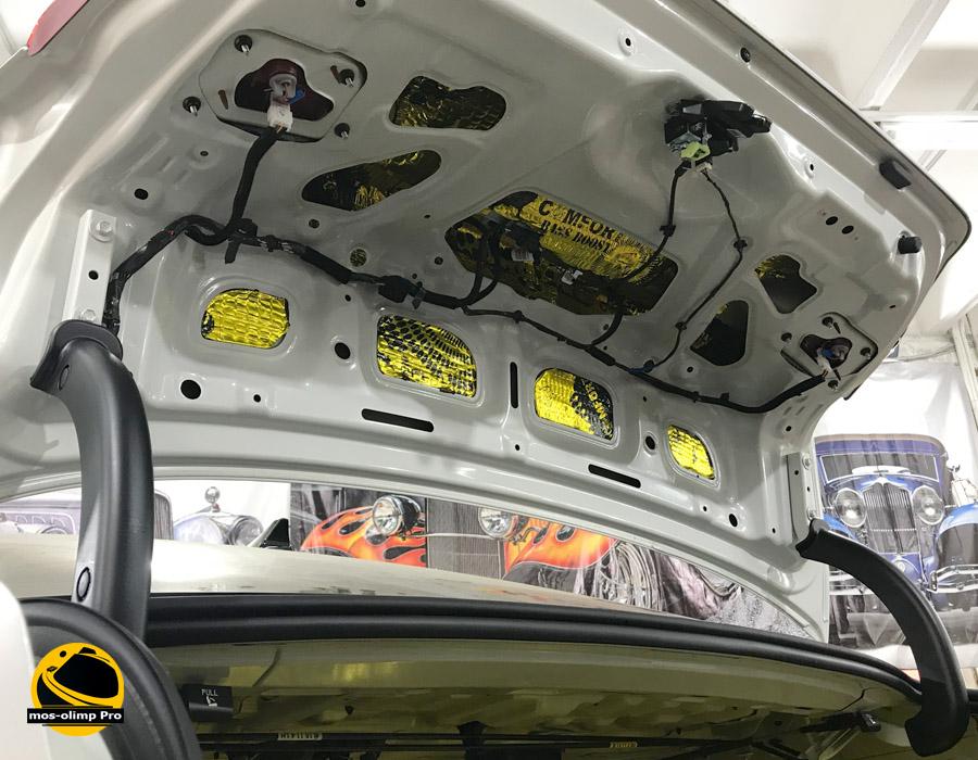 шумоизоляция крышки багажника киа